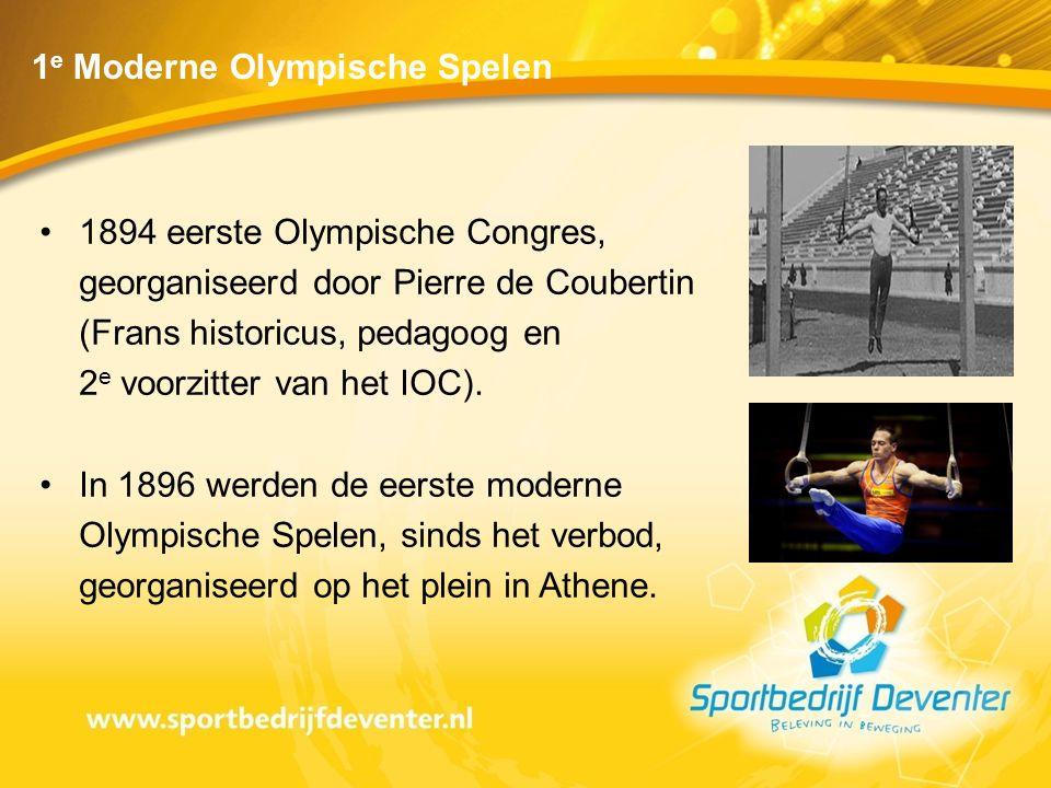 1e Moderne Olympische Spelen