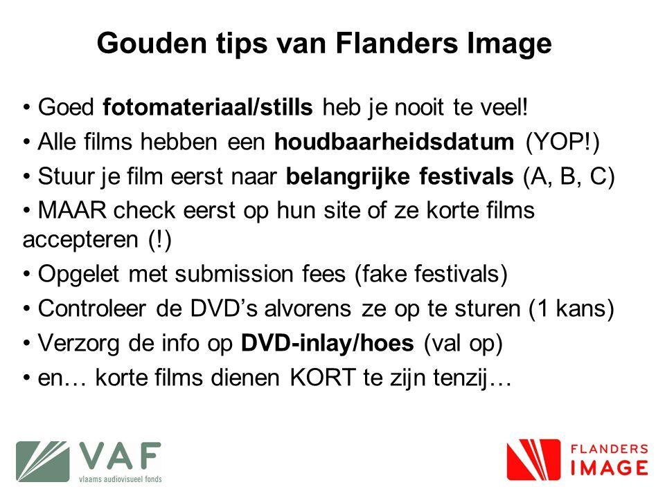 Gouden tips van Flanders Image