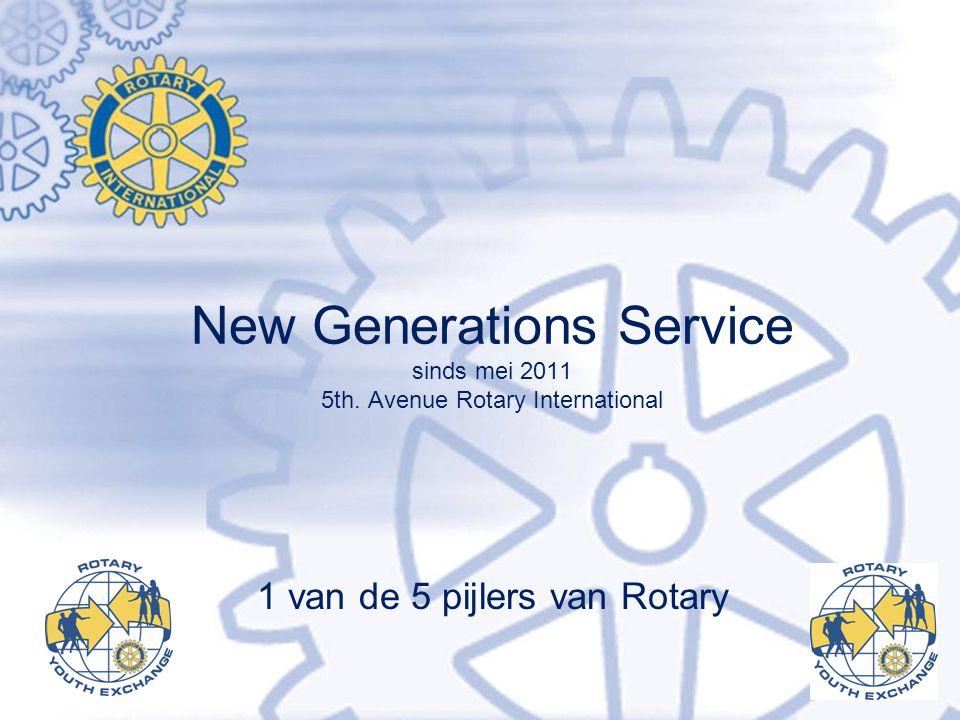 1 van de 5 pijlers van Rotary