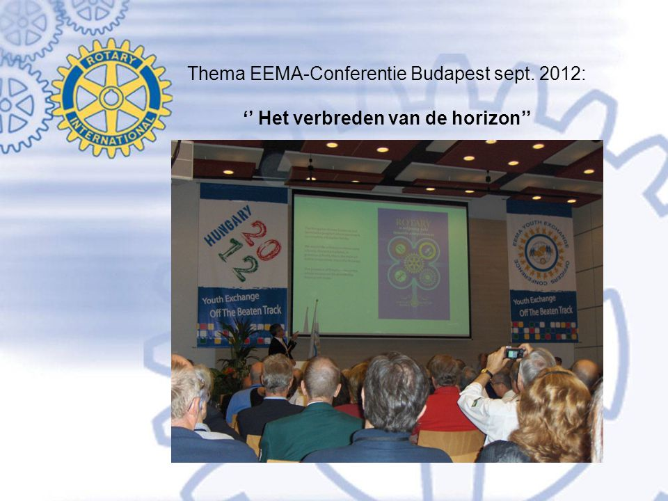 Thema EEMA-Conferentie Budapest sept