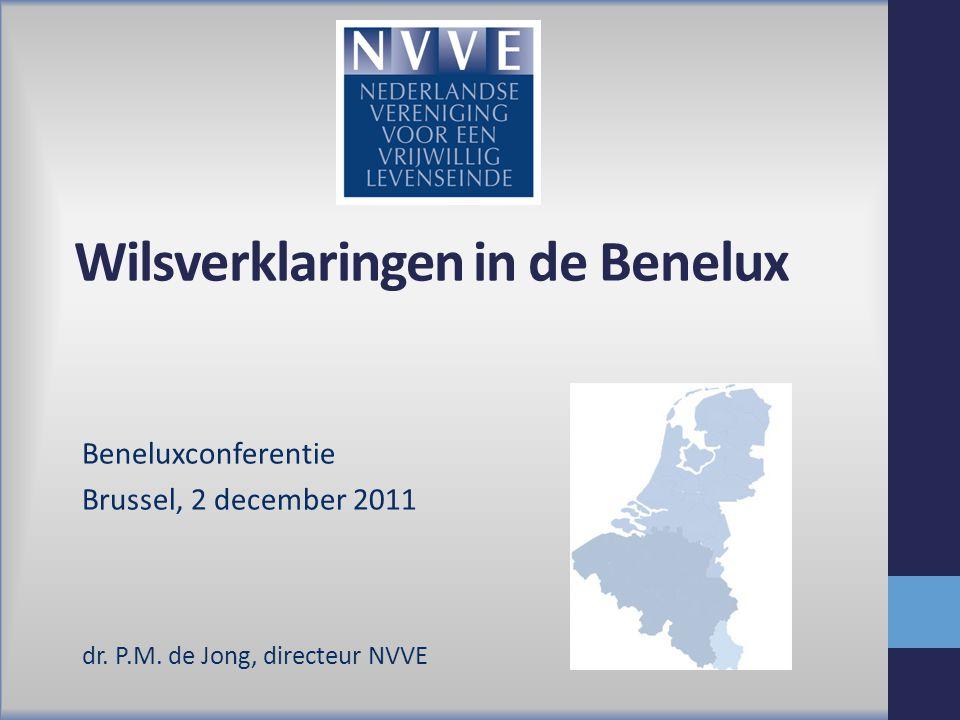 Wilsverklaringen in de Benelux