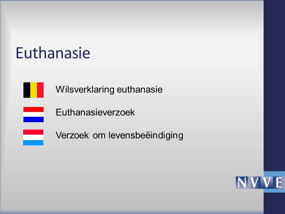 Euthanasie Wilsverklaring euthanasie Euthanasieverzoek