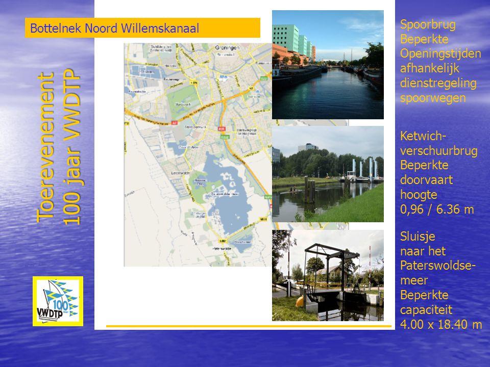 Toerevenement 100 jaar VWDTP Spoorbrug Bottelnek Noord Willemskanaal