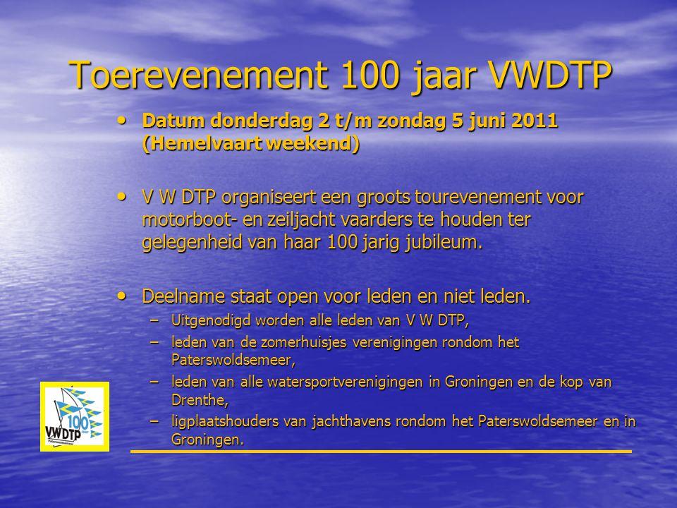 Toerevenement 100 jaar VWDTP