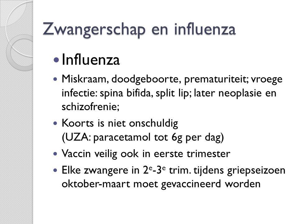 Zwangerschap en influenza