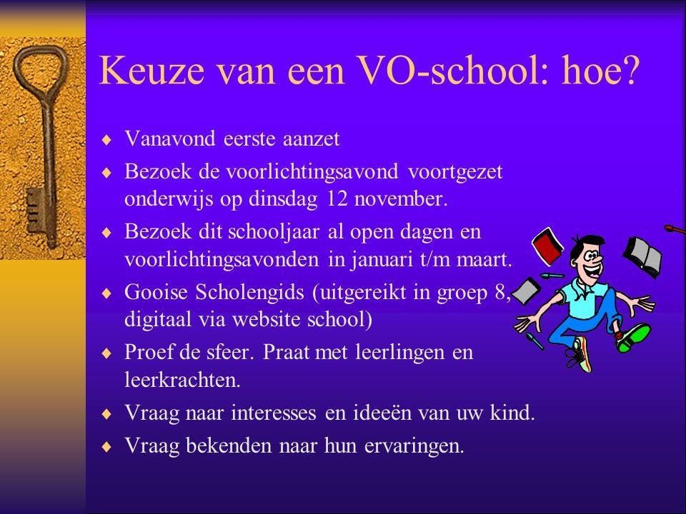 Keuze van een VO-school: hoe