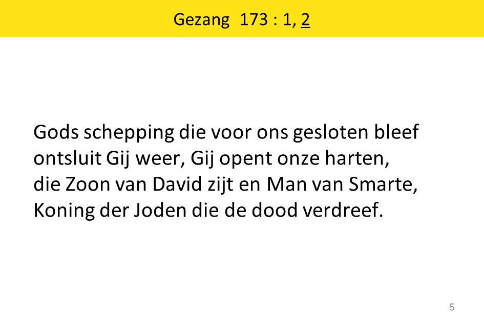 Gezang 173 : 1, 2