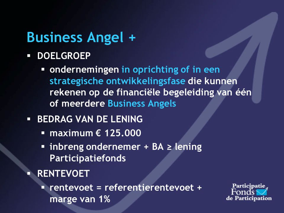 Business Angel + DOELGROEP