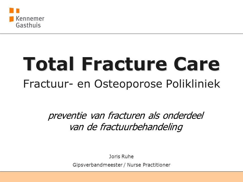Fractuur- en Osteoporose Polikliniek