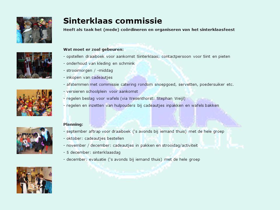 Sinterklaas commissie