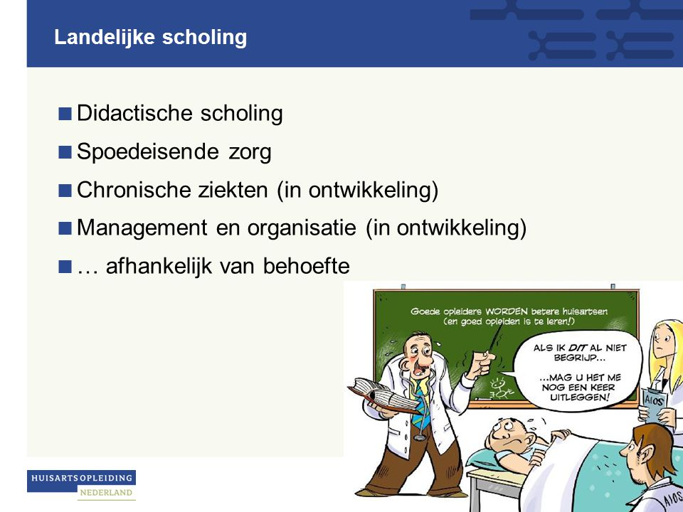 Chronische ziekten (in ontwikkeling)