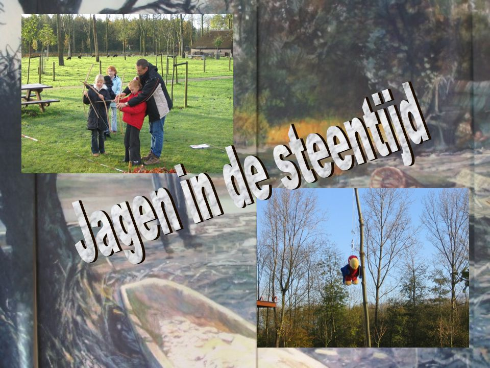 Jagen in de steentijd
