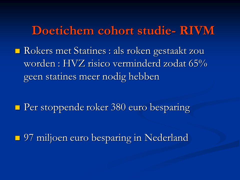 Doetichem cohort studie- RIVM