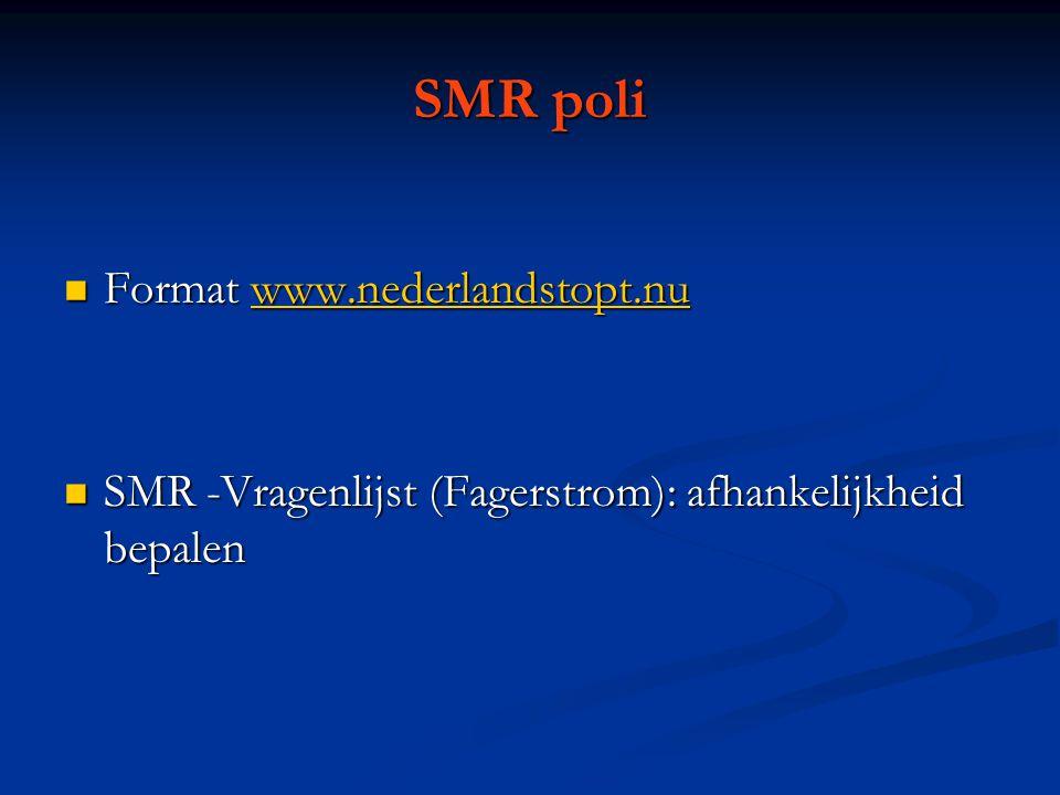 SMR poli Format www.nederlandstopt.nu