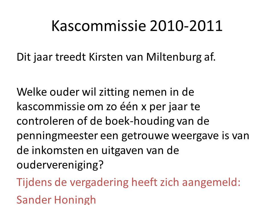 Kascommissie 2010-2011