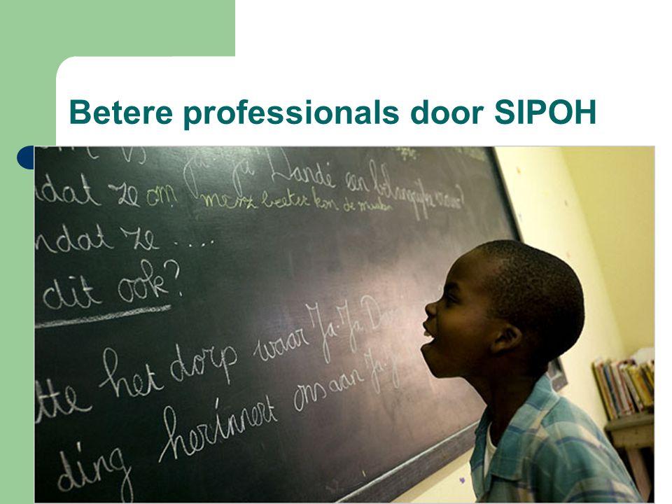 Betere professionals door SIPOH