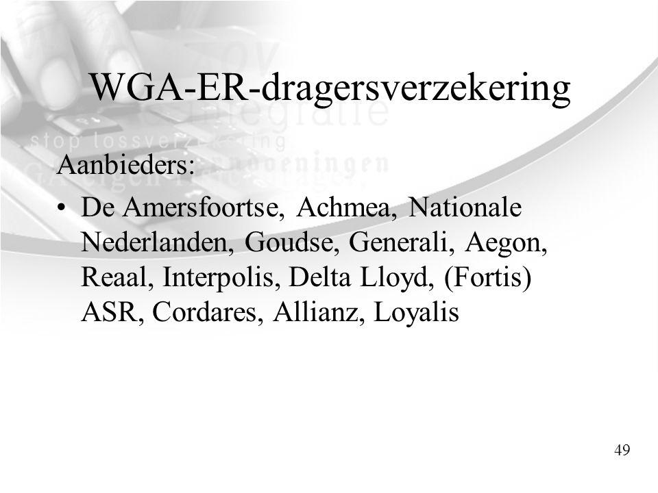 WGA-ER-dragersverzekering