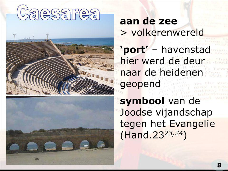 Caesarea aan de zee > volkerenwereld