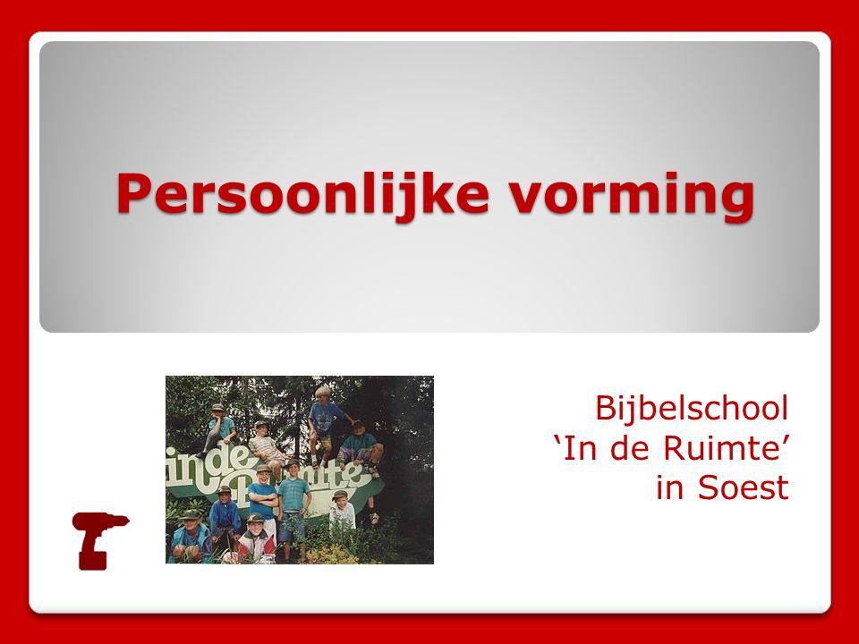Bijbelschool 'In de Ruimte' in Soest