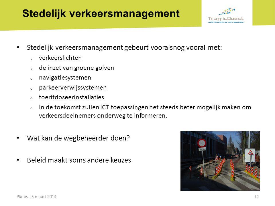 Stedelijk verkeersmanagement