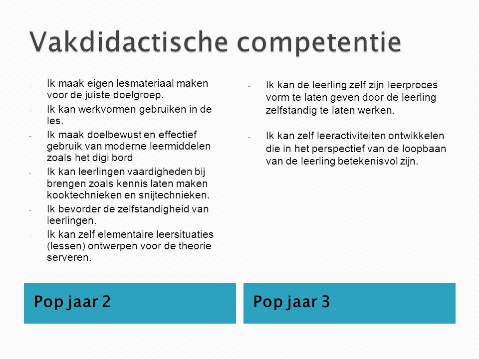 Vakdidactische competentie