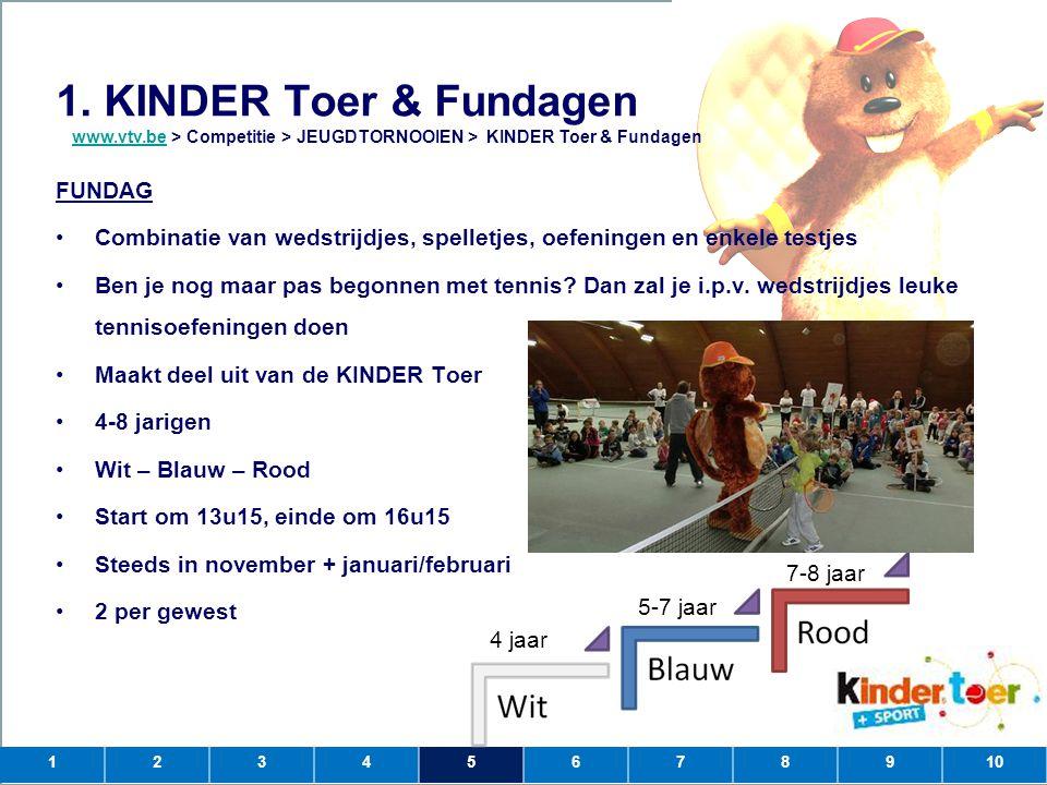 1. KINDER Toer & Fundagen FUNDAG