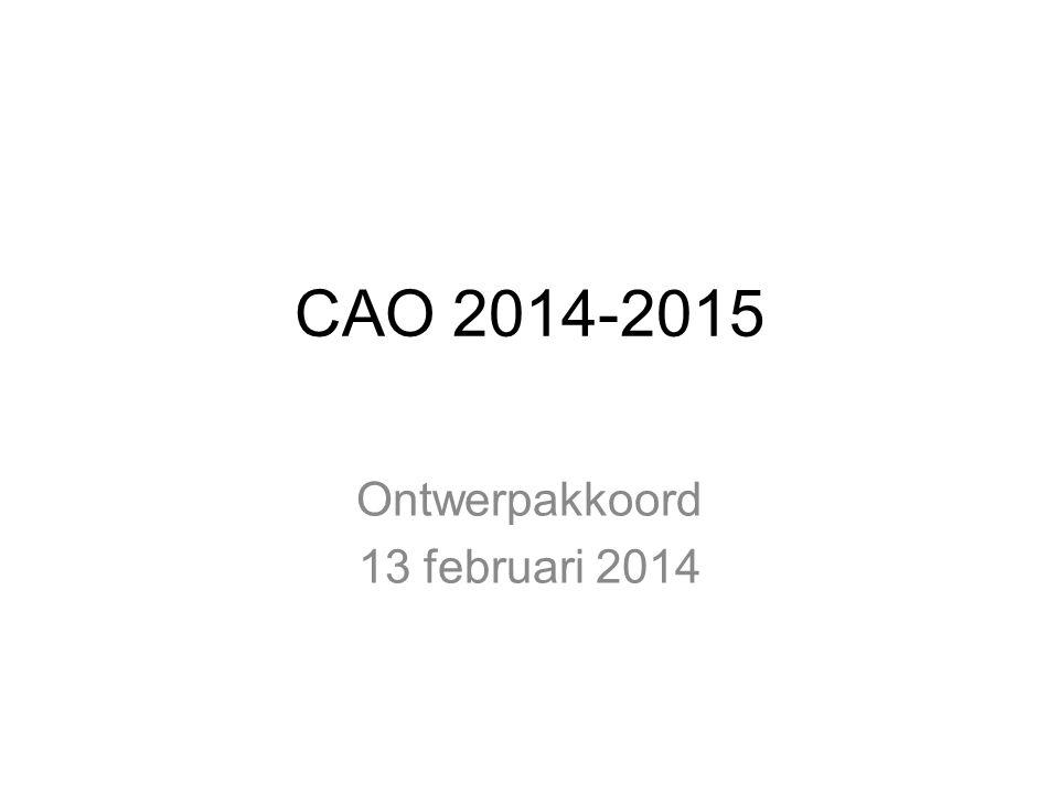 Ontwerpakkoord 13 februari 2014
