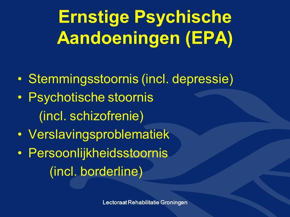 Ernstige Psychische Aandoeningen (EPA)