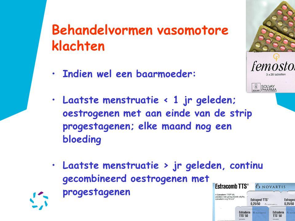 Behandelvormen vasomotore klachten