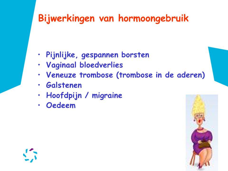 Bijwerkingen van hormoongebruik