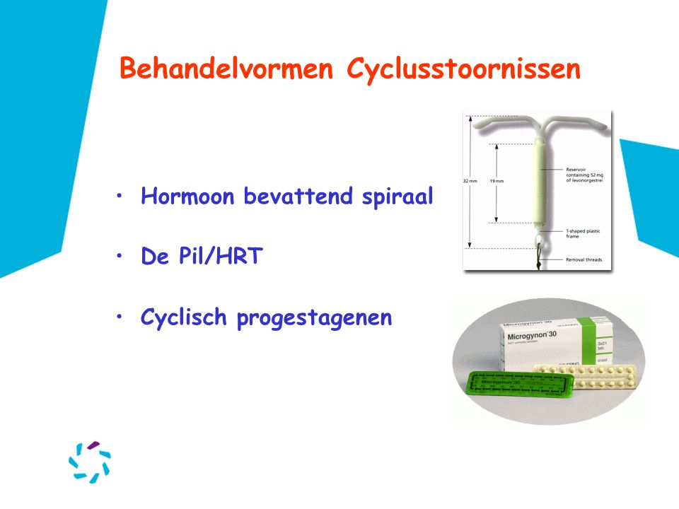 Behandelvormen Cyclusstoornissen