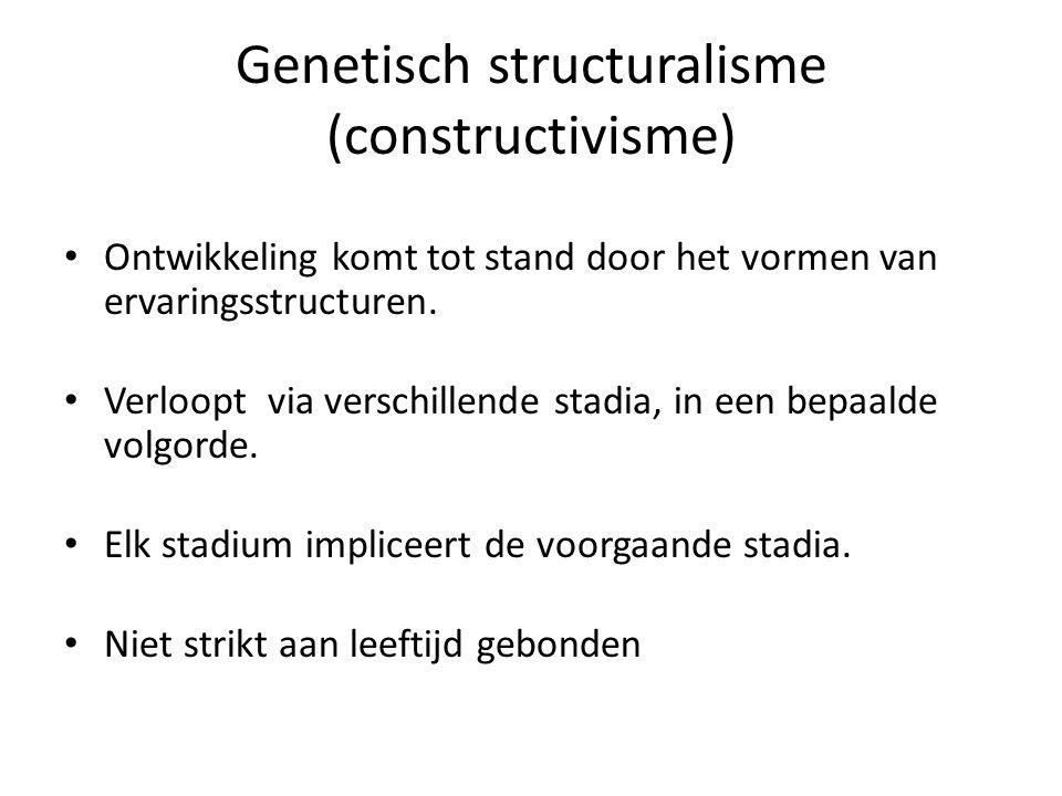 Genetisch structuralisme (constructivisme)
