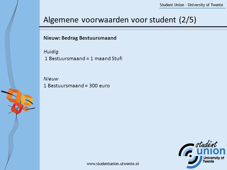 Algemene voorwaarden voor student (2/5)
