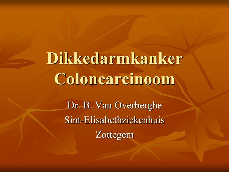Dikkedarmkanker Coloncarcinoom