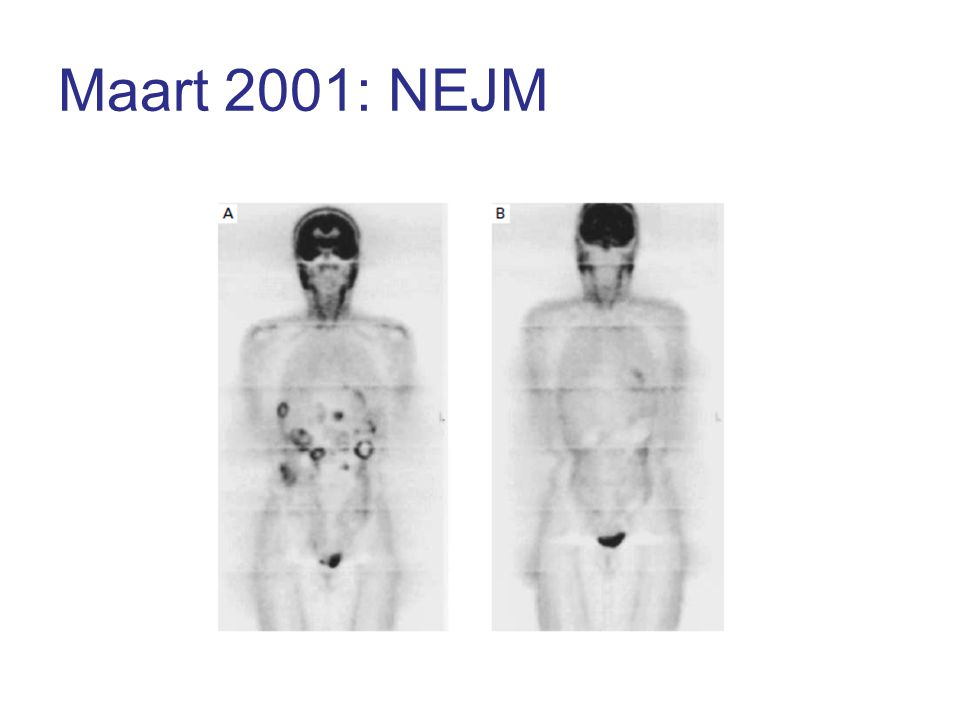 Maart 2001: NEJM