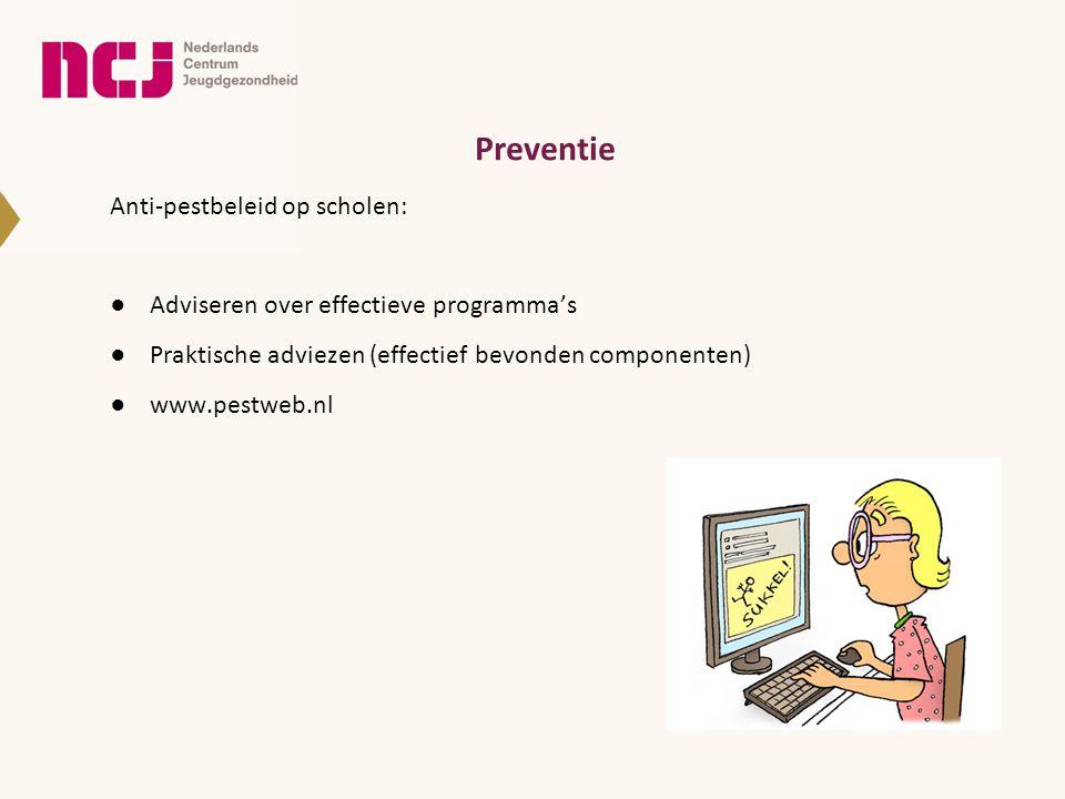 Preventie Anti-pestbeleid op scholen: