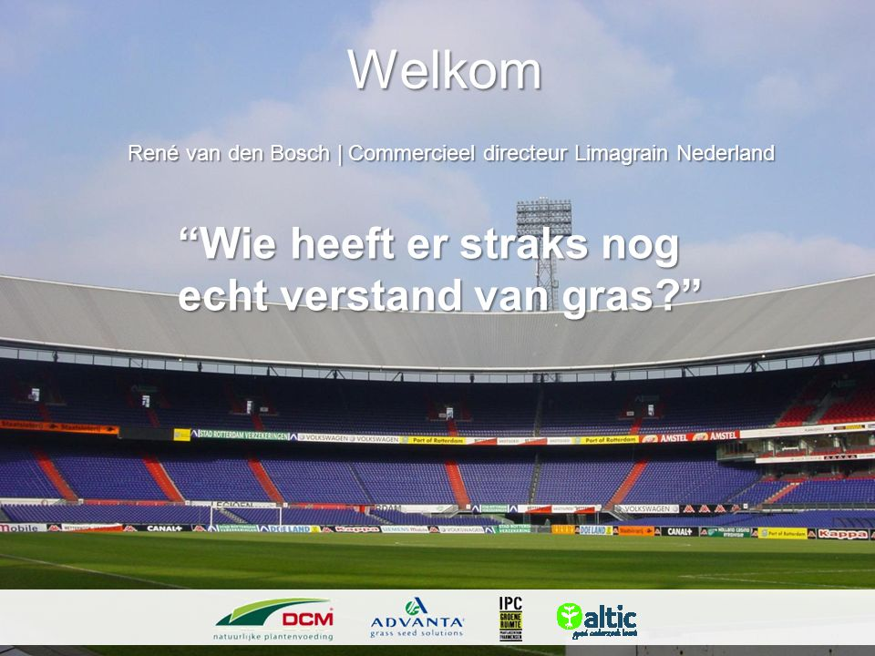 René van den Bosch | Commercieel directeur Limagrain Nederland