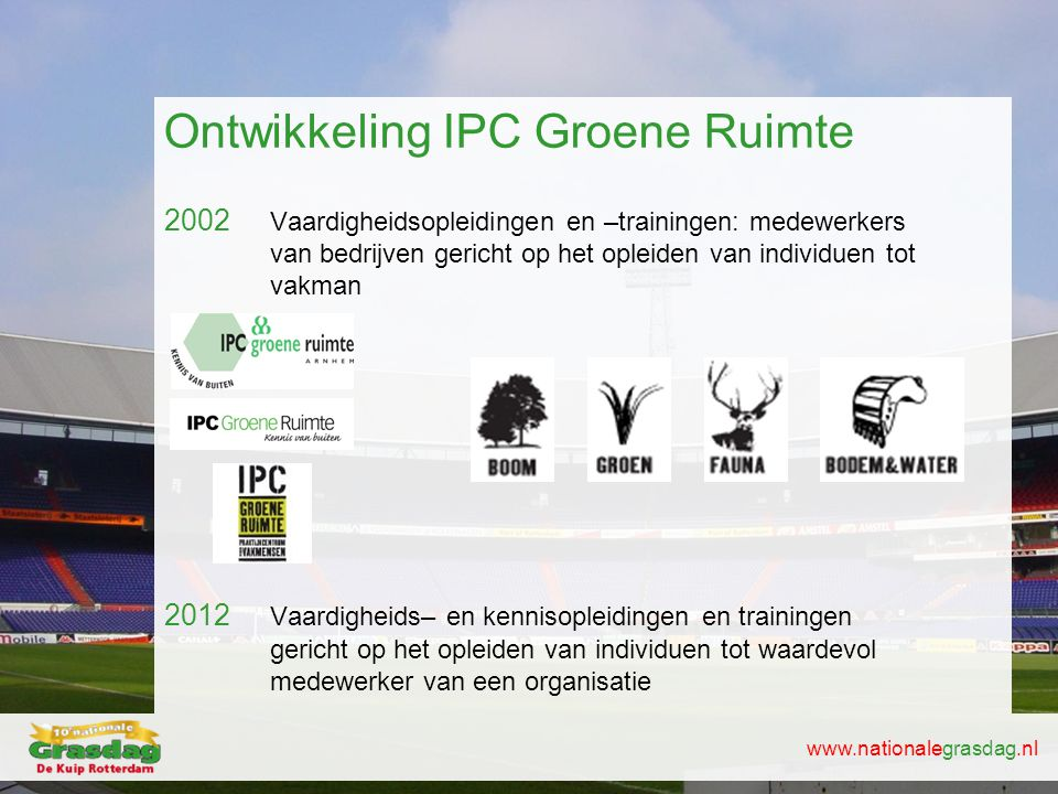 Ontwikkeling IPC Groene Ruimte
