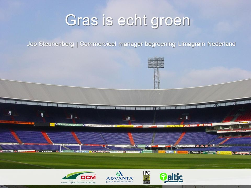 Job Steunenberg | Commercieel manager begroening Limagrain Nederland