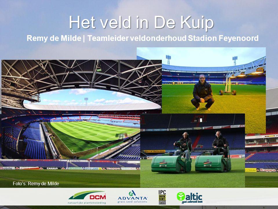 Remy de Milde | Teamleider veldonderhoud Stadion Feyenoord