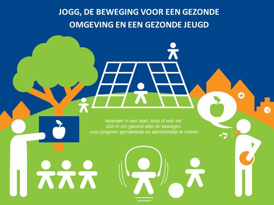 JOGG is de beweging voor een Gezonde omgeving en een gezonde jeugd