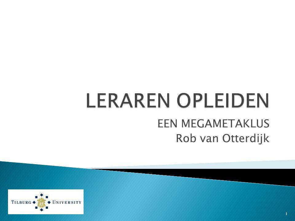 EEN MEGAMETAKLUS Rob van Otterdijk