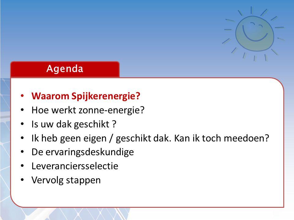 Waarom Spijkerenergie Hoe werkt zonne-energie Is uw dak geschikt
