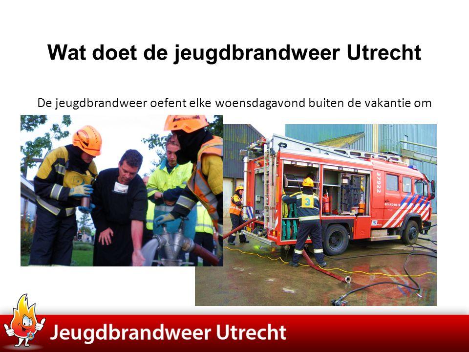 Wat doet de jeugdbrandweer Utrecht