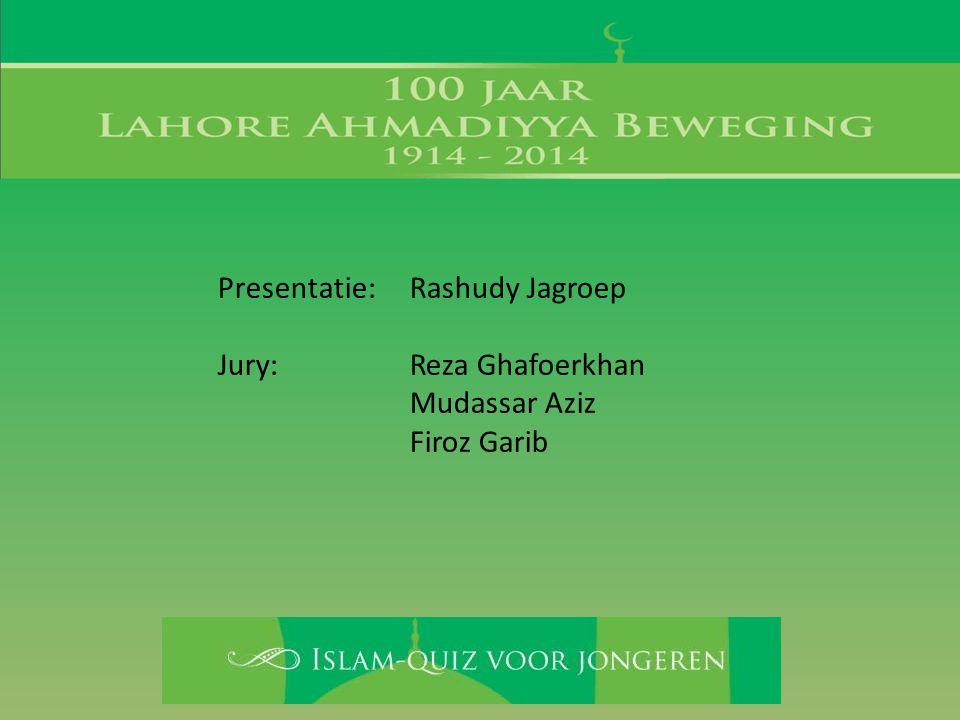 Presentatie: Rashudy Jagroep