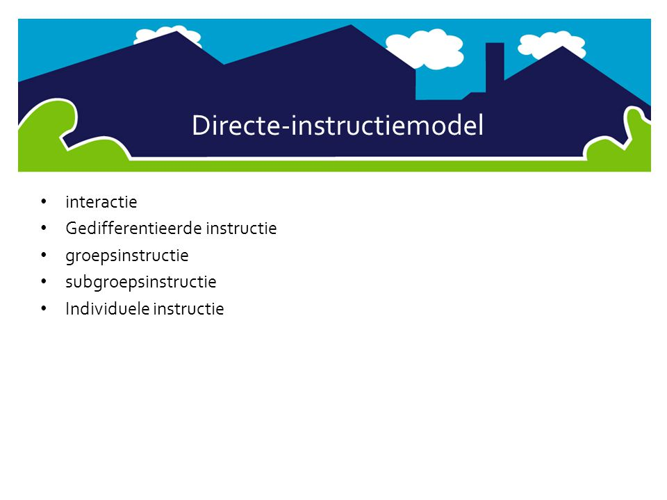 Directe-instructiemodel