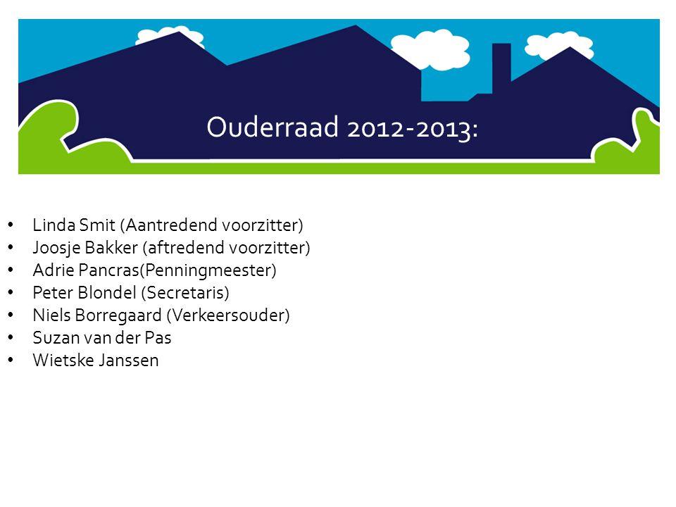 Ouderraad 2012-2013: Linda Smit (Aantredend voorzitter)