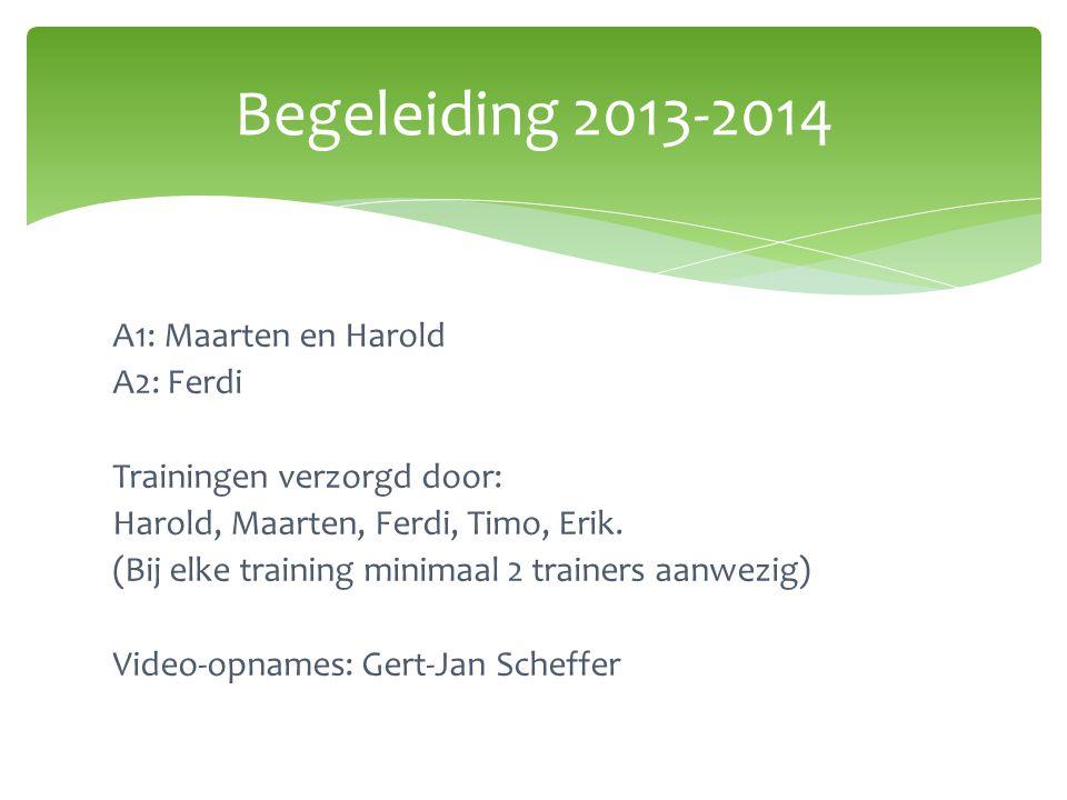 Begeleiding 2013-2014
