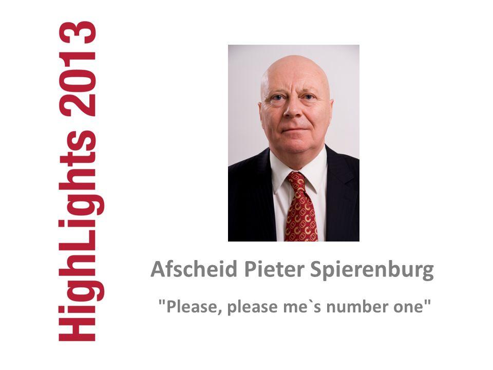 Afscheid Pieter Spierenburg