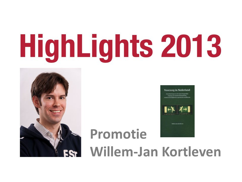 Promotie Willem-Jan Kortleven
